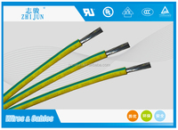 heat resistant insulation for silicone electrical motor lead wire