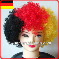 Germany Football Sports Fans Wig (DX-JF113)