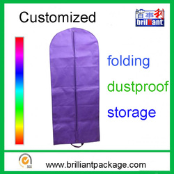 Hot Sell Promotional Foldable Non woven Wedding Dress Cover