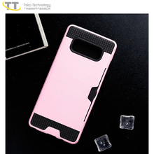 Tpu pc back phone case for samsung galaxy note 8 case thin hard pink