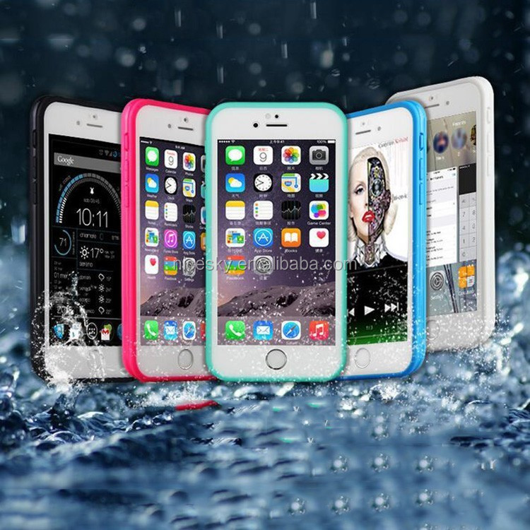 Brand New Aluminum & Silicon Phone Case Pepk Ultimate Metal Shockproof Waterproof Case for iphone 6 4.7inch