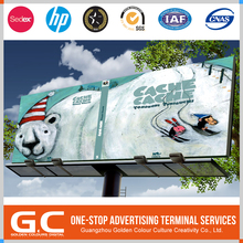 Sedex Certified Samples Are Available Custom-Made Outdoor Advertising Scrolling Billboard