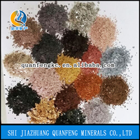 best whosale gold silver muscovite mica factory price