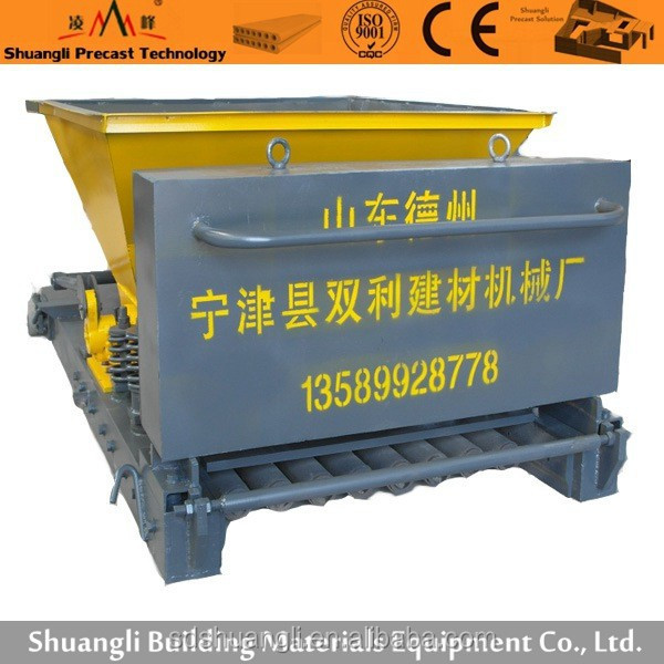 Supply concrete hollow core slab machine from Rita