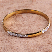 Yiwu Aceon Stainless Steel 2015 latest new design girls gold bangles models