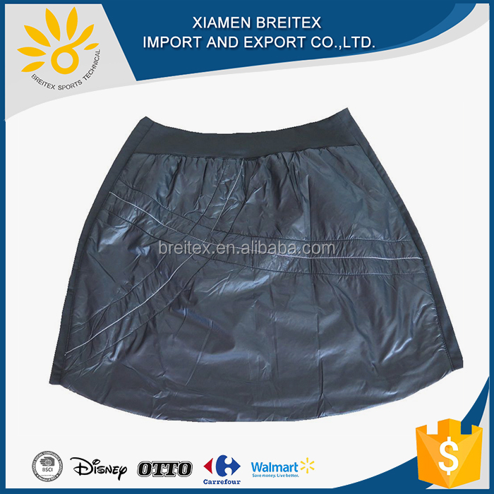 OEM service fashionable women's winter padded skirt