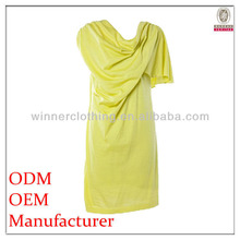 new arrival best quality fashion single shoulder dress for small quantity clothing