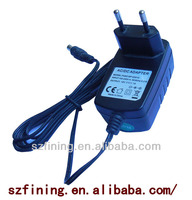medical 12v 1a dc switching adapter for Japan 12w