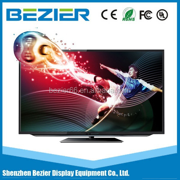 Reasonable price 55 inch 4K indoor seamless LCD TV with WIFI
