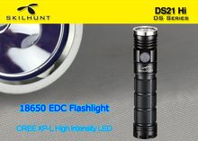 DS21 EDC high power tactical led torch flashlight