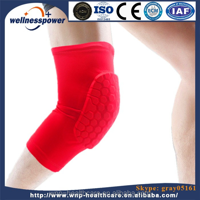 Crashproof Antislip Basketball Long Leg Knee Sleeve Brace