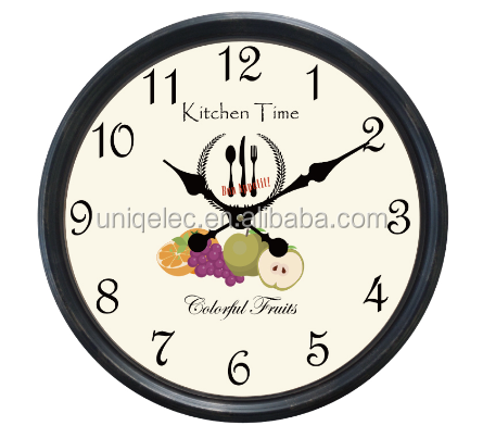 kitchen time large plastic 20 inch wall clock