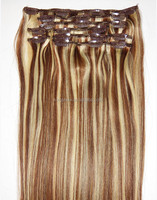 china wholesale bohemian remy clip in human hair extension