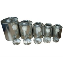 pvc bottle compound, tin can for cpvc solvent cement, cpvc solvent cement can