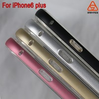 2015 Stryfer Wholesale Smooth Aluminum Metal Bumper phone case for Apple iPhone 6 4.7 handphone casing