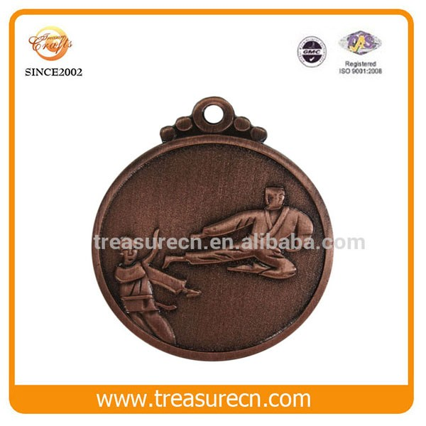 Custom Match Gifts Promotional Taekwondo Sports Stamping Metal Medal