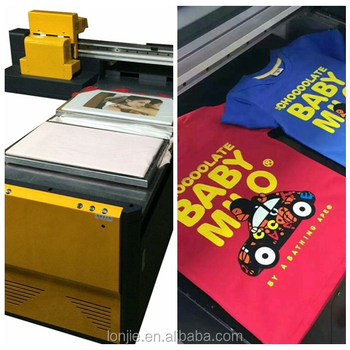 Garment dtg printer with double head