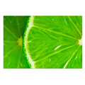 1 Panel HD Printed Fruit Photo Canvas Wall Art Green Lemon Canvas Painting for Restaurant Free Shipping/SJMT1915