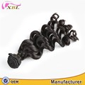 Factory price loose body wave virgin remy Cambodian human hair