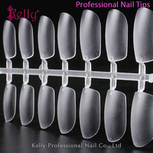 Professional Salon ABS Full Cover Square Thin Artifical Nail Tips