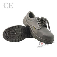 cheap price PU injection outsole steel toe safety boots