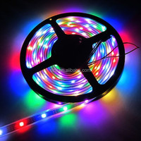 RGB/Full Color 12V WS2801 5050 Flex LED Strip 36 led/m 12 IC/m