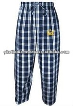 2012 CHEAP MENS LOUNGE WEAR FROM STOCK PLAID FABRIC FOR SUMMER