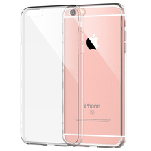 Factory Price Clear Tpu case for iphone6, transparent case for iphone 6s case mobile phone
