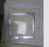 factroy price customized 18w welding processsed aluminum led panel profile kits for panel