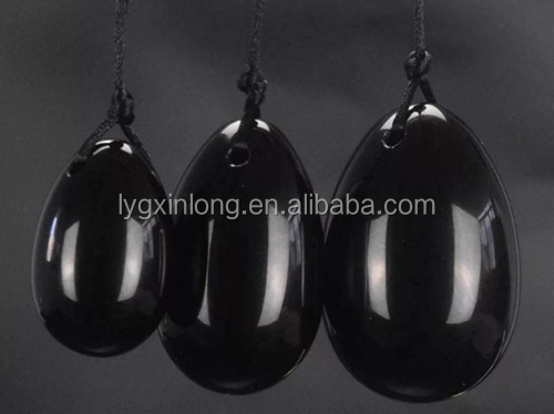 wholesale natural amethyst quartz crystal yoni eggs, Jade stone yoni eggs for Vaginal Exercise