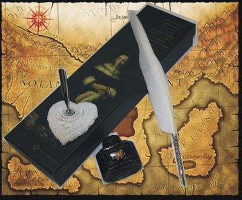 Cheap Euro Pheasant Feathers Dip Pen Calligraphy Pen Sets