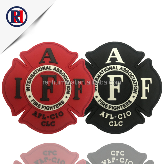 China custom embroidery patches 3d soft PVC patch custom Patches