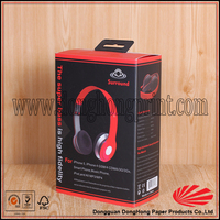 Well designed different sizes custom box packaging for headphone