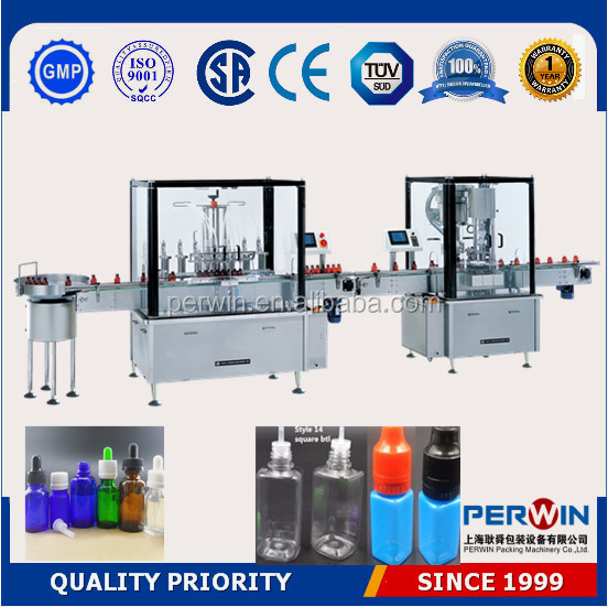 Automatic e-liquid filling machine ,robot hand style e liquid ,eye drop bottle filling machine ,CE Certificate,/0086-18516347828