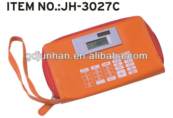 unique design multifunction purse calculator