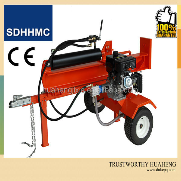37 Ton Automatic Horizontal&Vertical Log Splitters With CE Certification