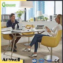 Amywell customized modern Formica hpl waterproof compact laminate meeting table