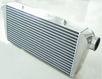"Universal Front Mount Bar And Plate Intercooler 600x300x76mm Core Size 3"" Inlet/Outlet"