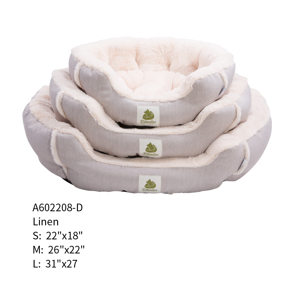 Embossed Pattern Super Soft Self Warming large dog bed