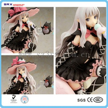 Custom made sexy girls action anime figures, adult anime 3d sexy girls figures, oem sexy nude cartoon figure