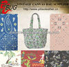 2013 Latest custom Paisley/Hawaii print Beach Bag