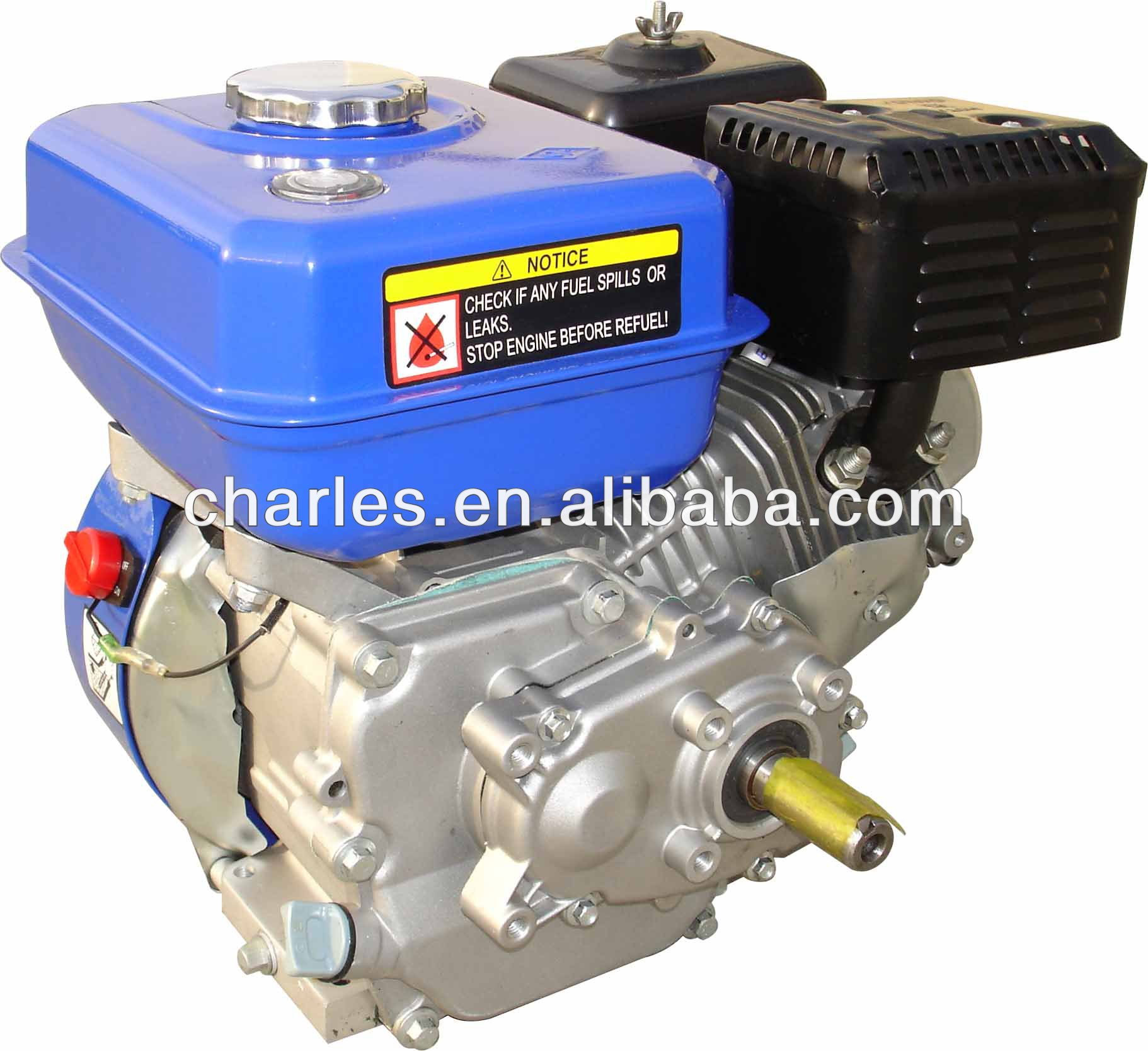 JD gasoline engine with 1/2 reduction driven with double chain