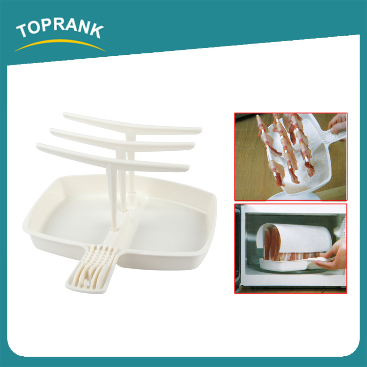 Toprank Bacon Making Machine Cooks Up To 12 Rashers Microwave Bacon Cooker Rack Grill Cooks Bacon To Perfection In The Microwave