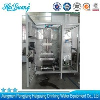 Chinese best quality liquid pack filling and packing sachet machine
