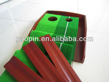 wooden golf putting trainer, rosewood golf putting trainer