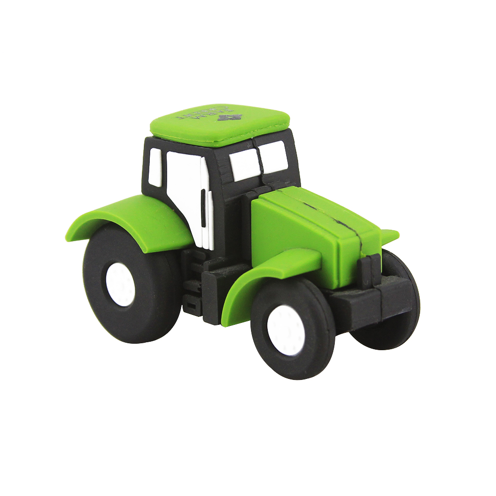 Hot sale PVC truck shaped usb flash promotion mini pendrive 4gb