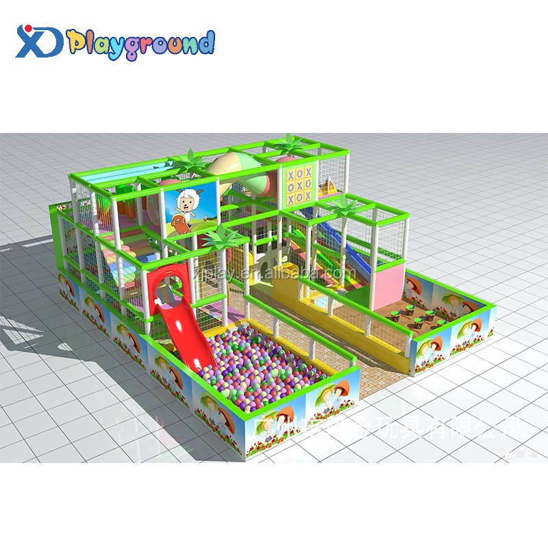 Jungle theme durable interior kids indoor playground equipment prices