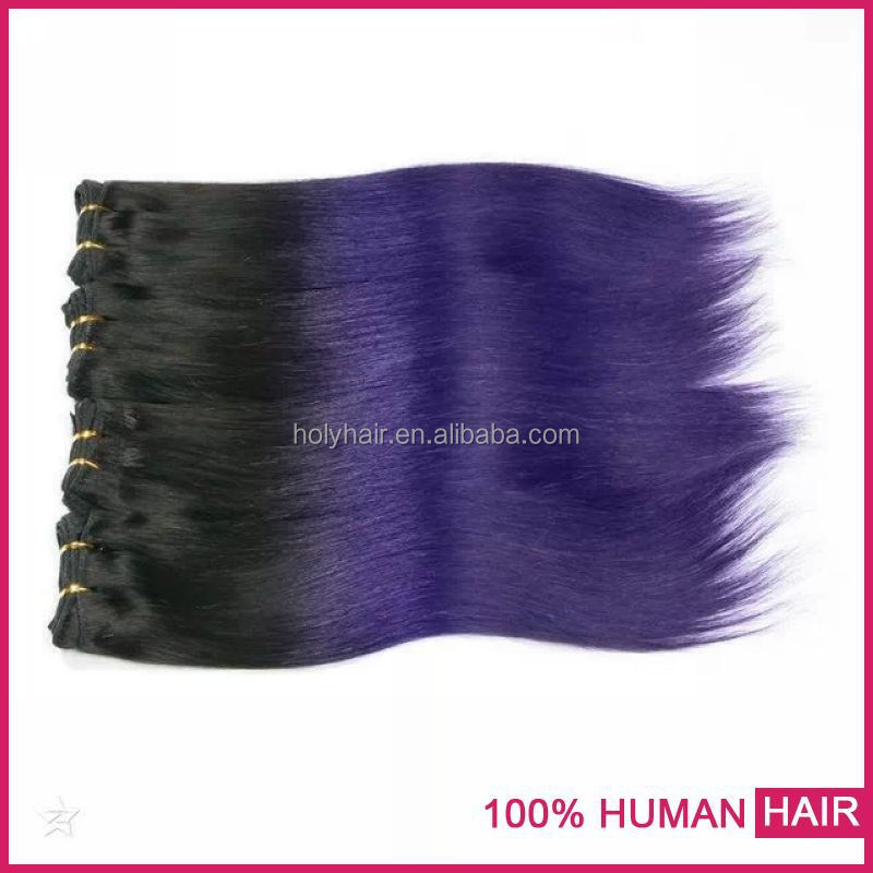 China hair fatory in Qingdao large stock fast ship two tone sweetie hair