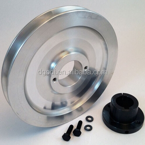 Chinese factory OEM custom large aluminum/steel/metal pulley wheel