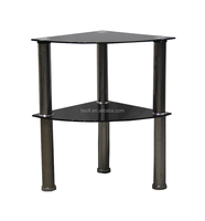 computer desk side table glass side table / end table ZS021